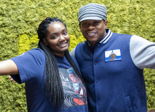 What's Your FLVR: Sway Calloway Debuts FLVR By Jordana Clothing Line In Brooklyn